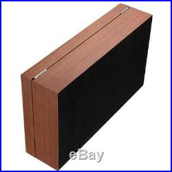 Watch Box Leather Wooden 12 Grids Rectangular Ladies Antique Box Jewelry Case