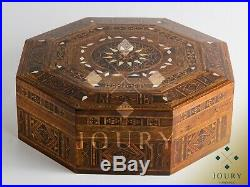 Wedding memory box, Gift box for her, Wooden box, Handmade, Inlaid with pearl