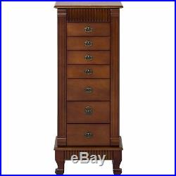 Wood Jewelry Armoire Cabinet Chest Organizer, Home Decor from Best Choice Product