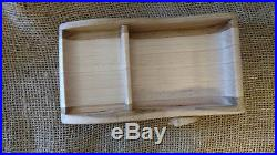 Wooden Jewelry Box with Shell accents